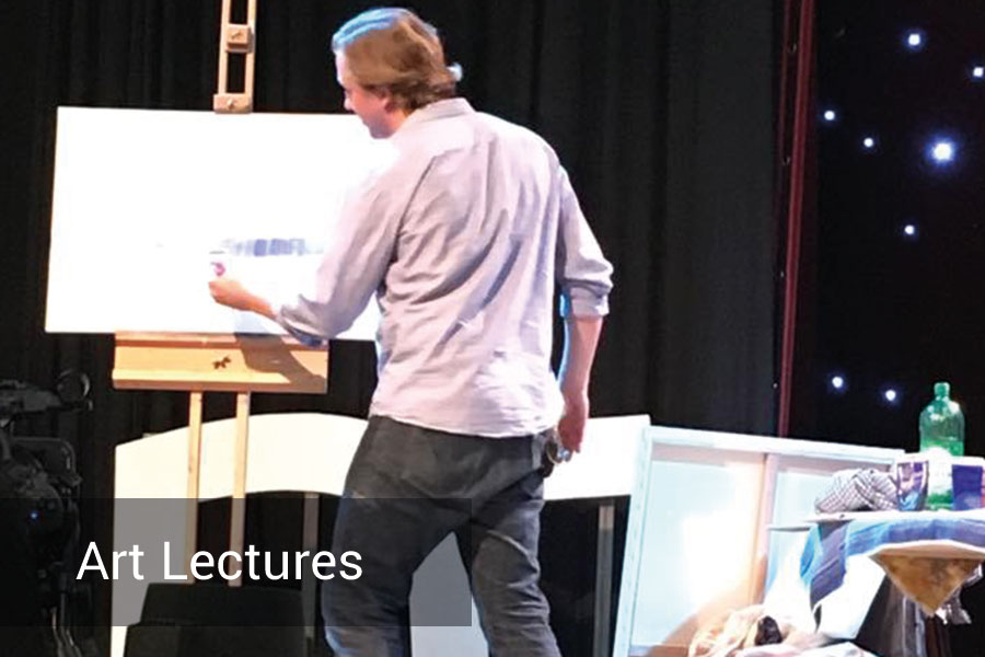 Art lecture by Richard Stuttle