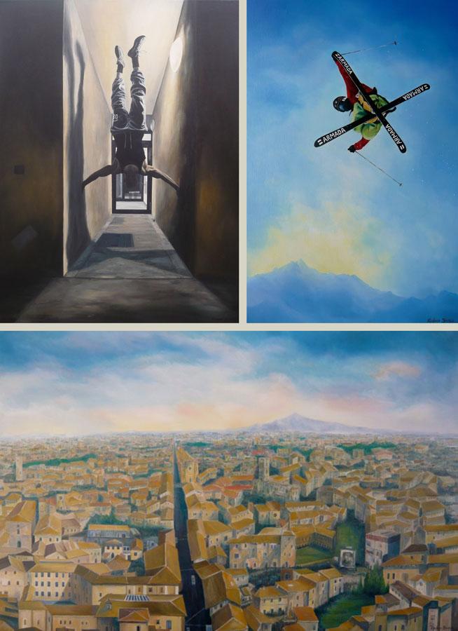 Commissions Art by Richard Stuttle