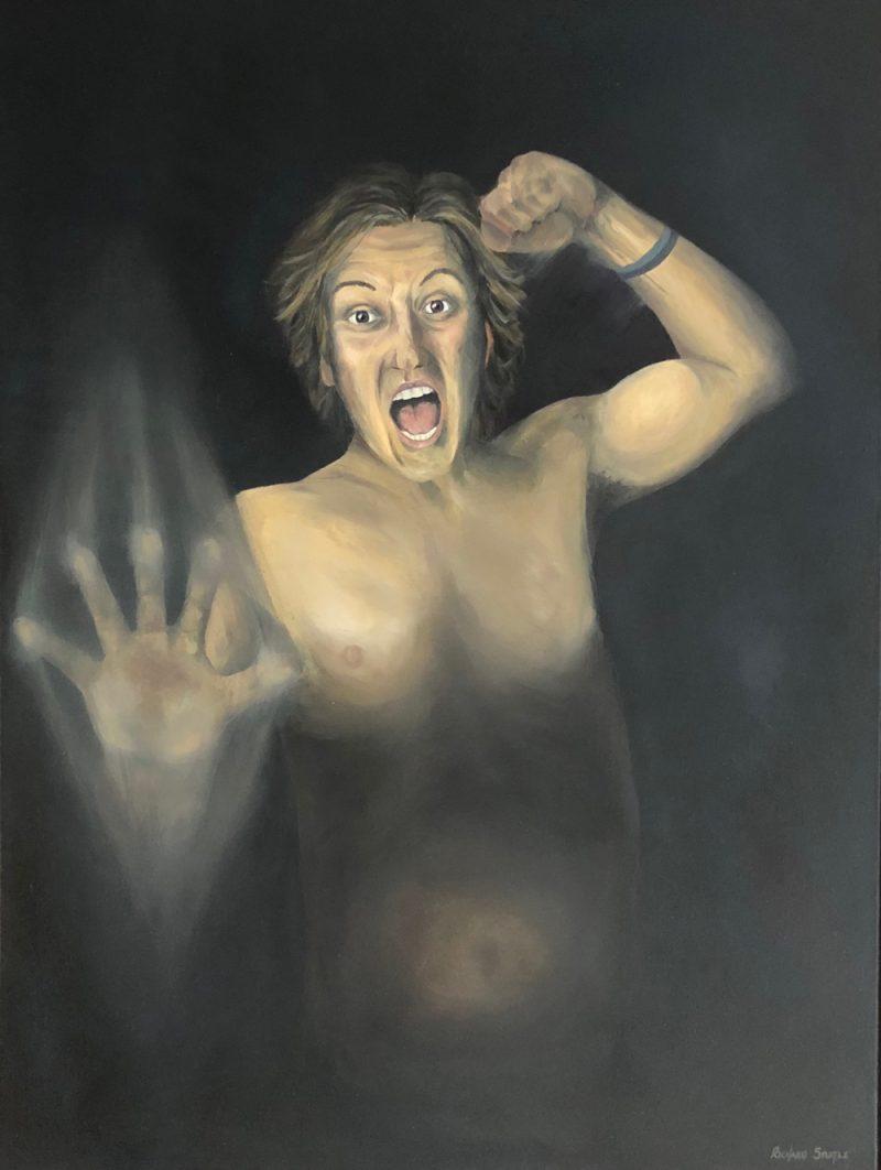 Self Portrait Art by Richard Stuttle