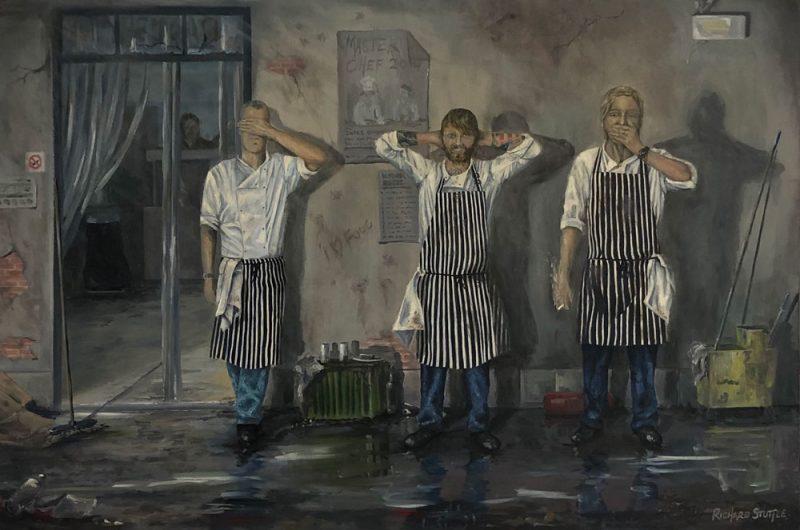Chefs Art by Richard Stuttle