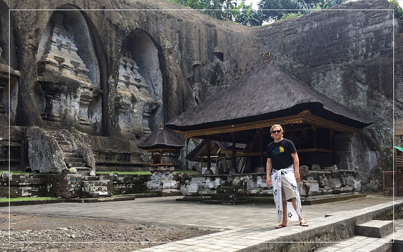 Richard Stuttle in Bali