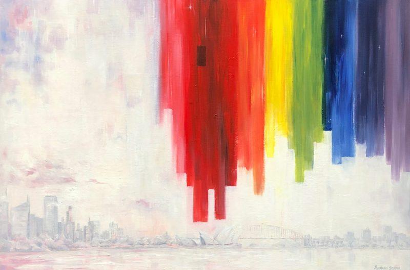 Chasing Rainbows Art by Richard Stuttle