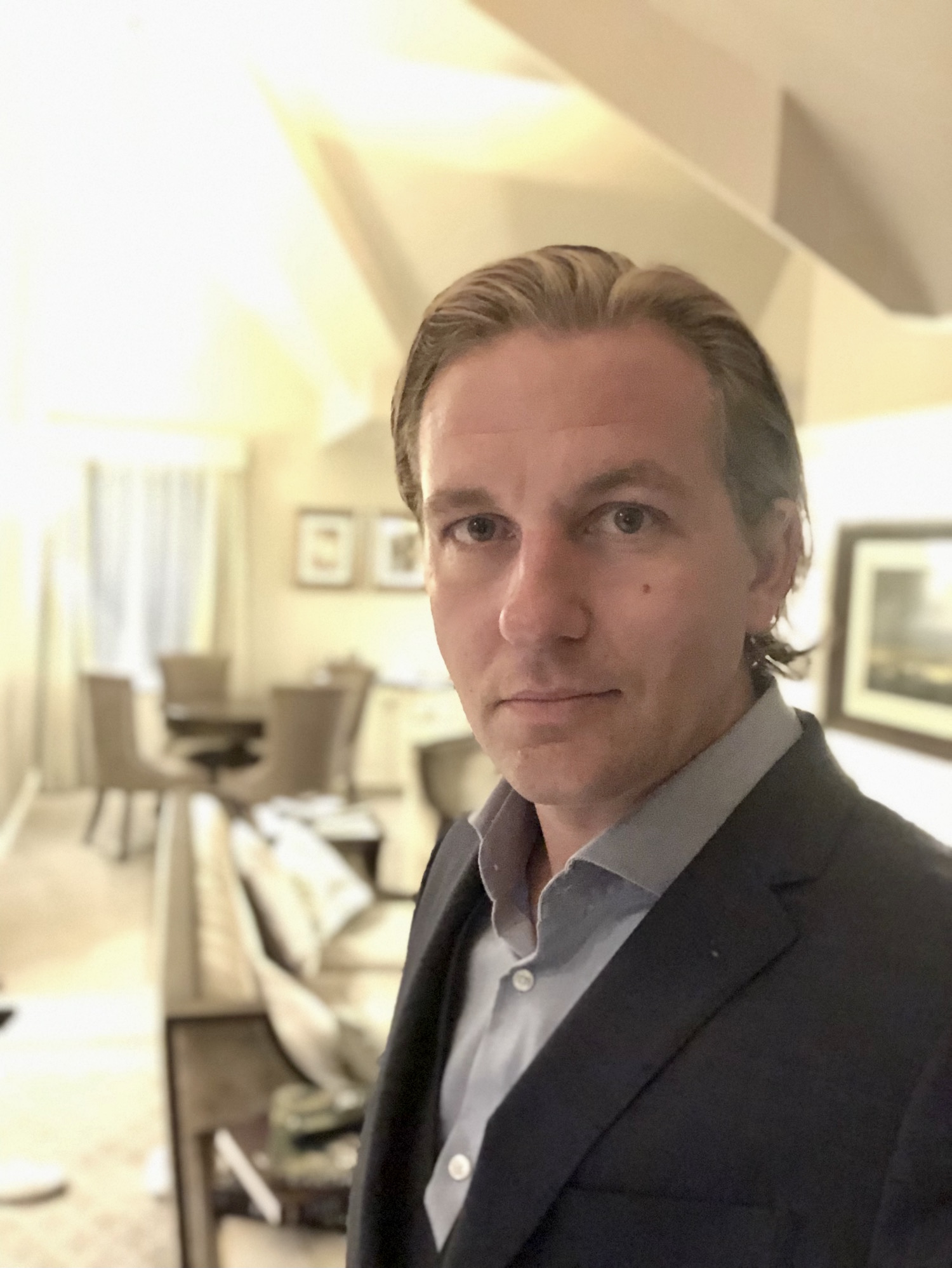 Author Richard Stuttle